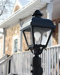 Outdoor Cast Lantern Post Light