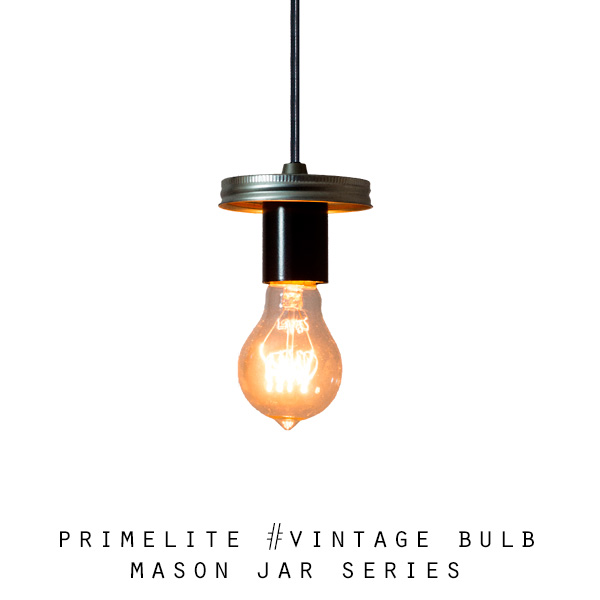 Mason Jar Series: #Vintage Bulb