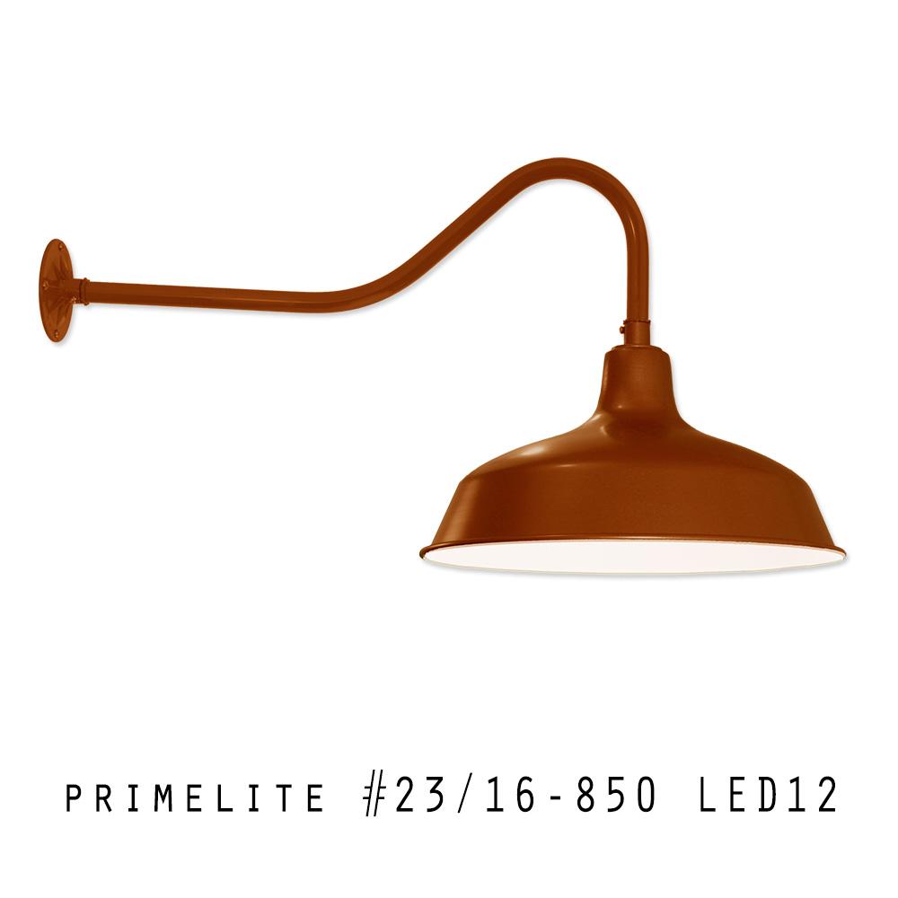 Gooseneck: #23/16-850 LED12