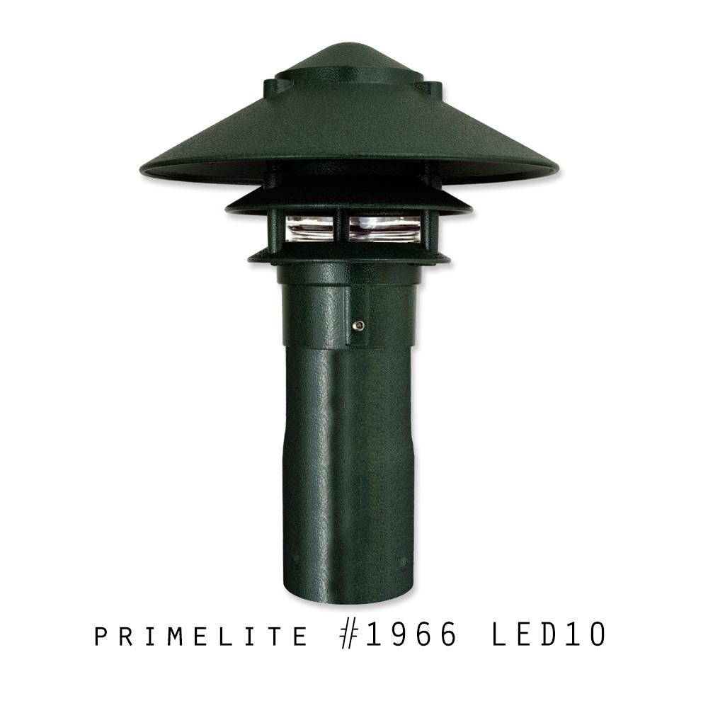 Primelite Garden Light #1966 LED10 | Cast Aluminum