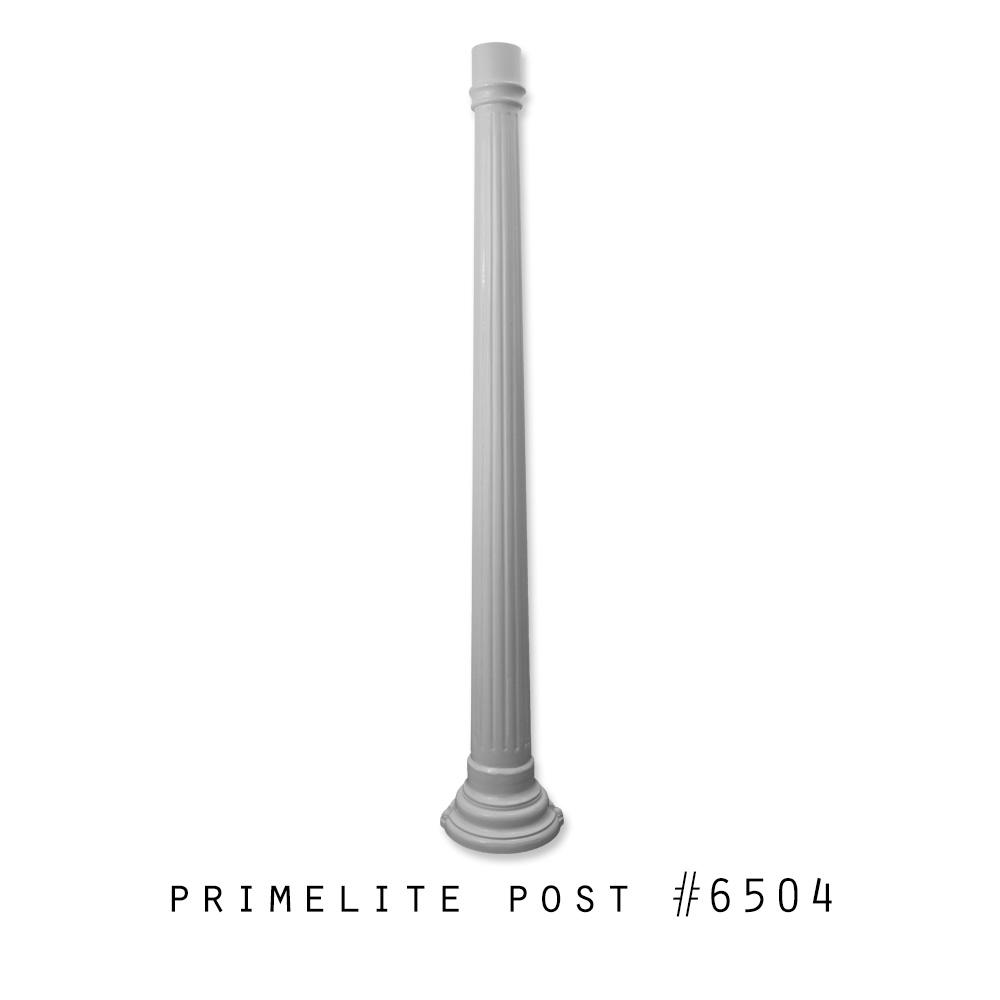 Cast Aluminum Post #6504