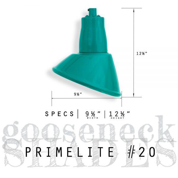 gooseneck shade #20