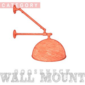 Gooseneck | Sign Lights - Wall Mount