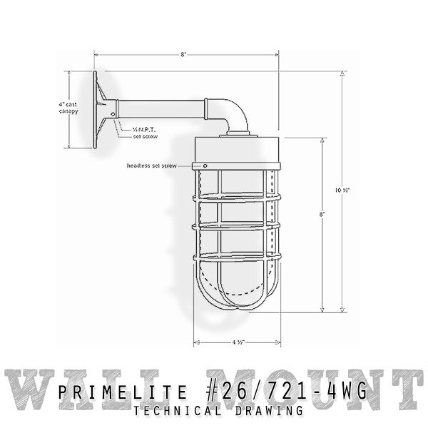 technical drawing #26/721-4WG