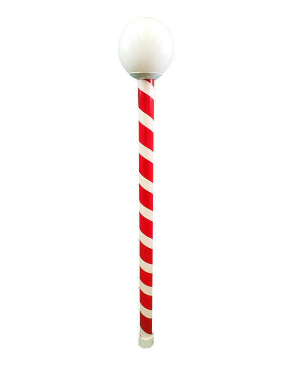 #6107 Candy Cane with #1280/3