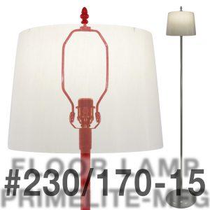 Floor Lamp w/ shade #230/170-15