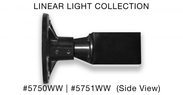 product: wall washer #5750WW Side View