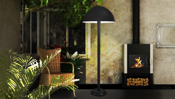 Floor Lamp #231/39-19 in the garden
