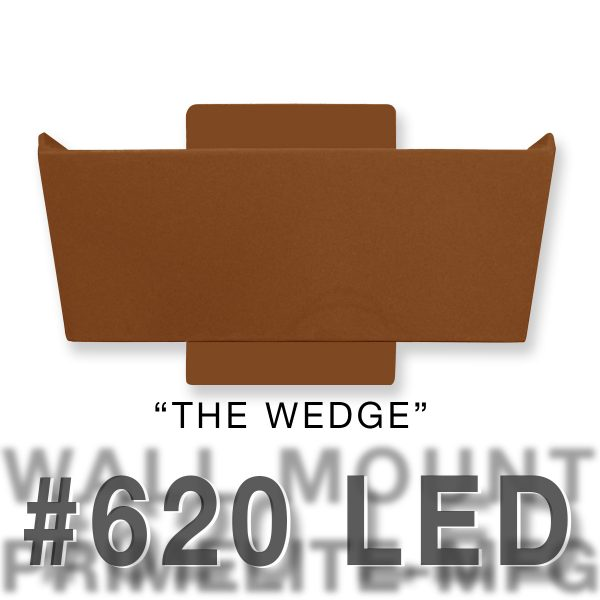 The Wedge - Wall Mounted #620LED